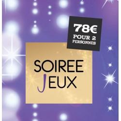 """Pochettes Cadeau """"Soirée Jeux"""""""