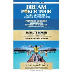 Dream Poker Tour samedi 4...